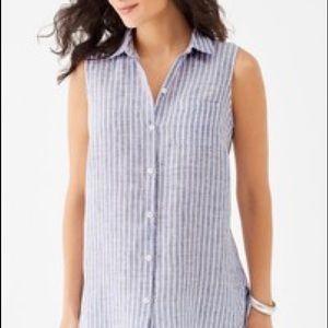 J. Jill linen tunic size L